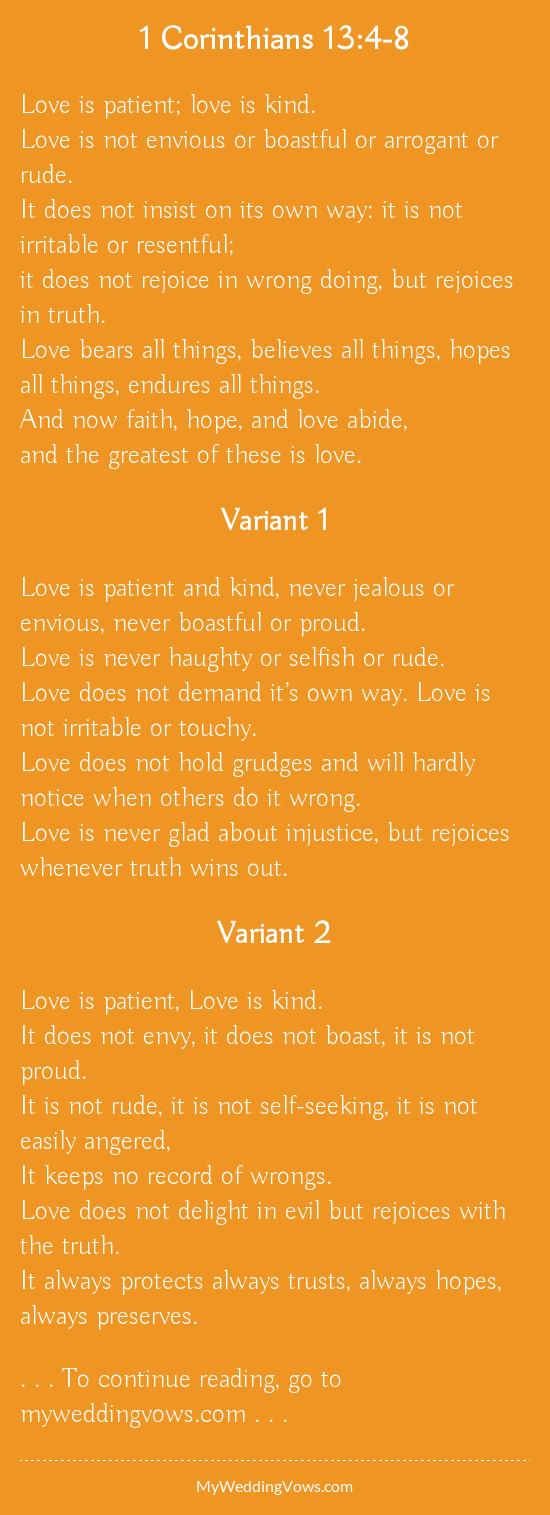 Corinthians Love Quotes 1 Corinthians 1348