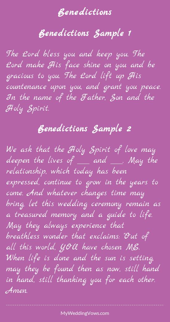 Benedictions